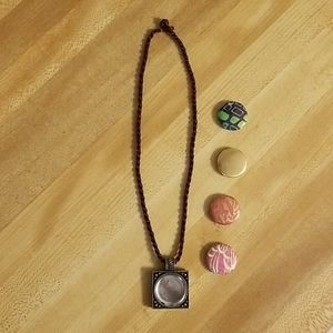 Magnabilities necklace and inserts